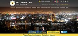 Katz Law Office, Ltd. Mexico City Website