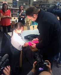 Clay Guillory Makes 3D Printed Prosthetic Hand for Colorado Child