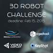 CGTrader.com launches 3D Robot Challenge to envision Steven Hawking's Terminator-like future