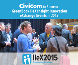Civicom to Sponsor GreenBook IIeX Insight Innovation eXchange Events in 2015