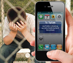 TipSafe provides an anonymous tool for reporting bullying, crime and suspicious activity.
