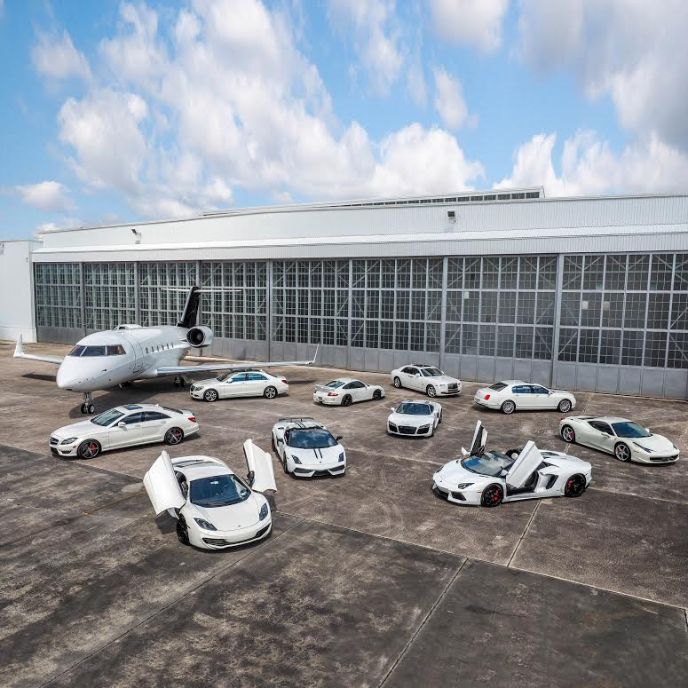 Exotic Car Rental Company in Miami, mph club®, Increases All White Fleet of  Vehicles