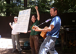 Naturalists lead Singing