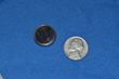 Problems most often occur with 20 mm button batteries - about the size of a nickel