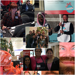 Consilium Staffing's Consilium Cares 2014 Christmas Collage