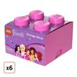LEGO Friends Storage Brick- Pack of 6, $135.99