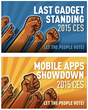 Who's on Top at CES? 20 Live Finalists Appear on Stage at 2015...