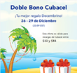 Tu mejor regalo Decembrino: HablaCuba.com's Double Bonus for Top Ups...