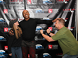 Mike Tyson was playful and happy to interact with all of his WNY fans at the Statler City.