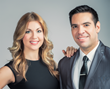LIVE! with Aaron & Kelly hosts Aaron Sanchez and Kelly V. Dolan  photo: drew-photography.com