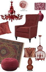 Home Furnishings in Marsala - Pantone's Color of 2015