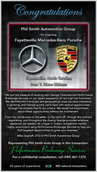 Phil Smith Automotive Group Acquires Mercedes Benz Porsche