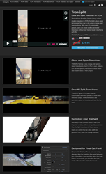 A New Plugin Entitled TranSplit was Released Today from Pixel Film...