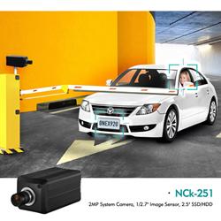 "NCk-251 2MP System Camera, 1/2.7"" Image Sensor, 2.5"" SSD/HDD"