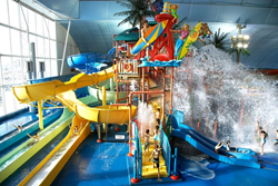 The 3-acre Fallsview Indoor Waterpark.