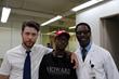 Filmmaker Ryan A. Cole with Isaiah Washington & Gabriel Miller