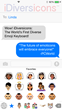 Now Apple Offers Truly Diverse Emoji—Thanks to iDiversicons' Revolutionary New iPhone and iPad Keyboard Released December 20, 2014 from Cub Club Investment