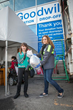 San Francisco Girl Scouts donate to Goodwill at the annual Donate-a-thon