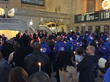 Candlelight Vigil for Homeless Draws Hundreds to Grand Central on Christmas