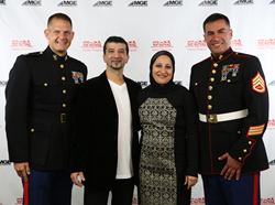 Dentists across the nation gathered with U.S. Marines for the annual MGE benefit Dinner to raise funds for the Toys for Tots  Literacy Program.
