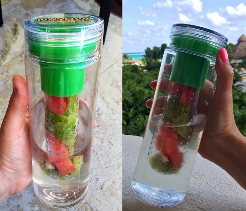 Water Bottle You Put Fruit In: The Fruit Infuser Water Bottle Is Nayoya's New Healthy