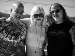 DJ Peace Music Video Production Still with Emylee Disario and Jon Thomas