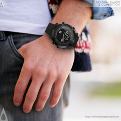 Bluetooth Connected Watch by XAVIER HOUY