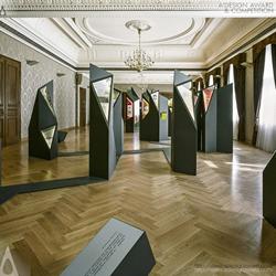 Multimedia exhibition Lsx20 Exhibition design by Design studio H2e
