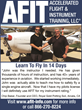 A.F.I.T. Accelerated Flight & Instrument Training Announces...
