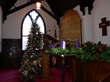 Christmas tree at St. John's Church