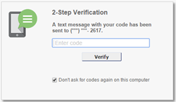 Two-Factor Authentication For Extra Security