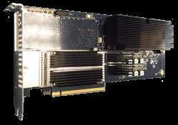 ANIC-100K Single Port 100 GigE FPGA Based  PCIE Adapter