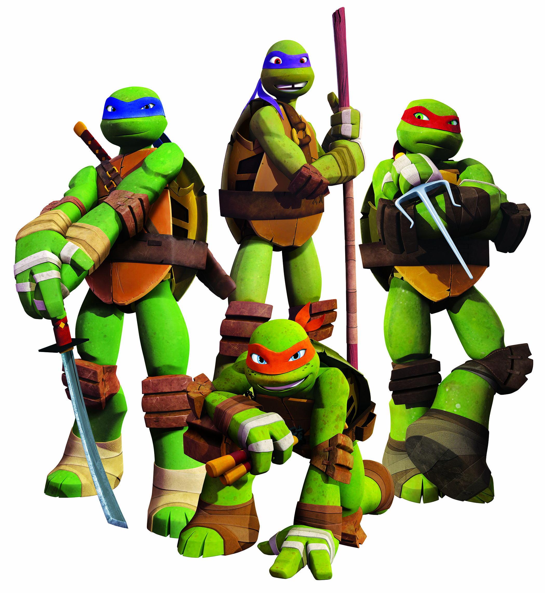 This is a picture of Playful Teenage Mutant Ninja Turtle Images