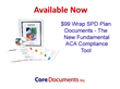 Core Documents Adds $99 ERISA Summary Plan Description (SPD) Wrap...