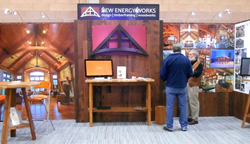 Join New Energy Works as they exhibit and present information on building timber frame homes and heavy timber structures.