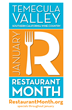 Delicious food samplings available at Temecula Valley restaurants in January