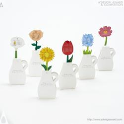 Flowers Calendar by Katsumi Tamura