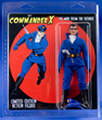Commander X Mego-style action figure by Nemo Publishing
