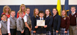Final contestants & first place winner in the Everest Academy National Geographic Society Geography Bee