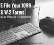 E-File Your 1099 & W-2 Forms