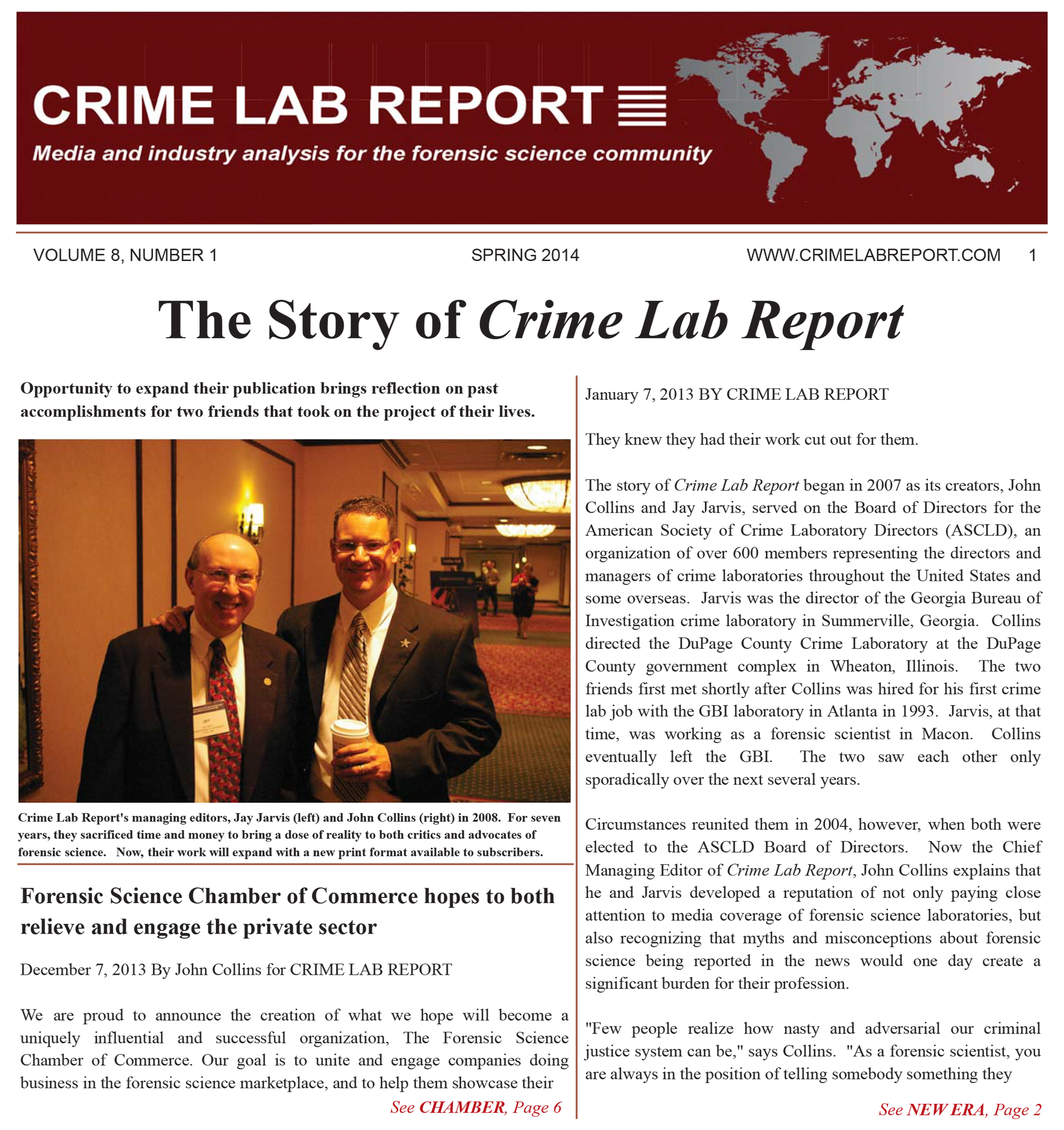 Publication For Accredited Forensic Science Laboratories Hits Milestone