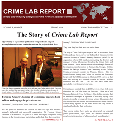 crime lab report Contact us please note: you gbi investigative reports, crime lab reports, etc to obtain documents from the georgia bureau of investigation.