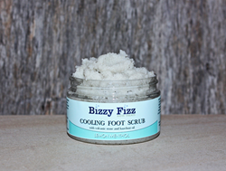Bizzy Fizz Bath Treats Cooling Foot Scrub