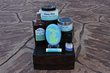 A selection of Bizzy Fizz Bath Treats skin pampering products