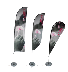 Trade Show Hardware Feather Banners