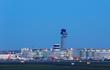 Düsseldorf Airport at dusk @ Andreas Wiese, Flughafen Düsseldorf