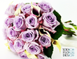 Purple wedding flowers Bridal wedding bouquet Wedding flower trends and colour combinations for 2015 Purple wedding flowers