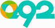 The new logo for Q92, which debuted in Wichita January 1, 2015.