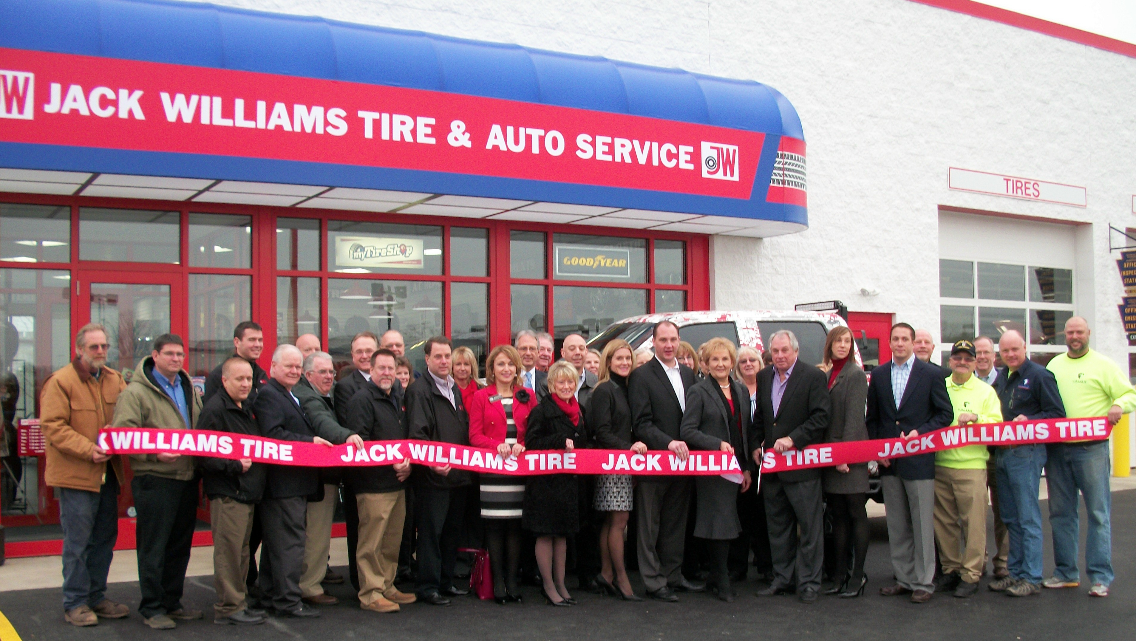 Jack Williams Tire Opens 30th Retail Location in Brodheadsville
