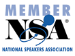 The National Speakers Association is a professional speakers' organization that supports the pursuit of public speaking as a business